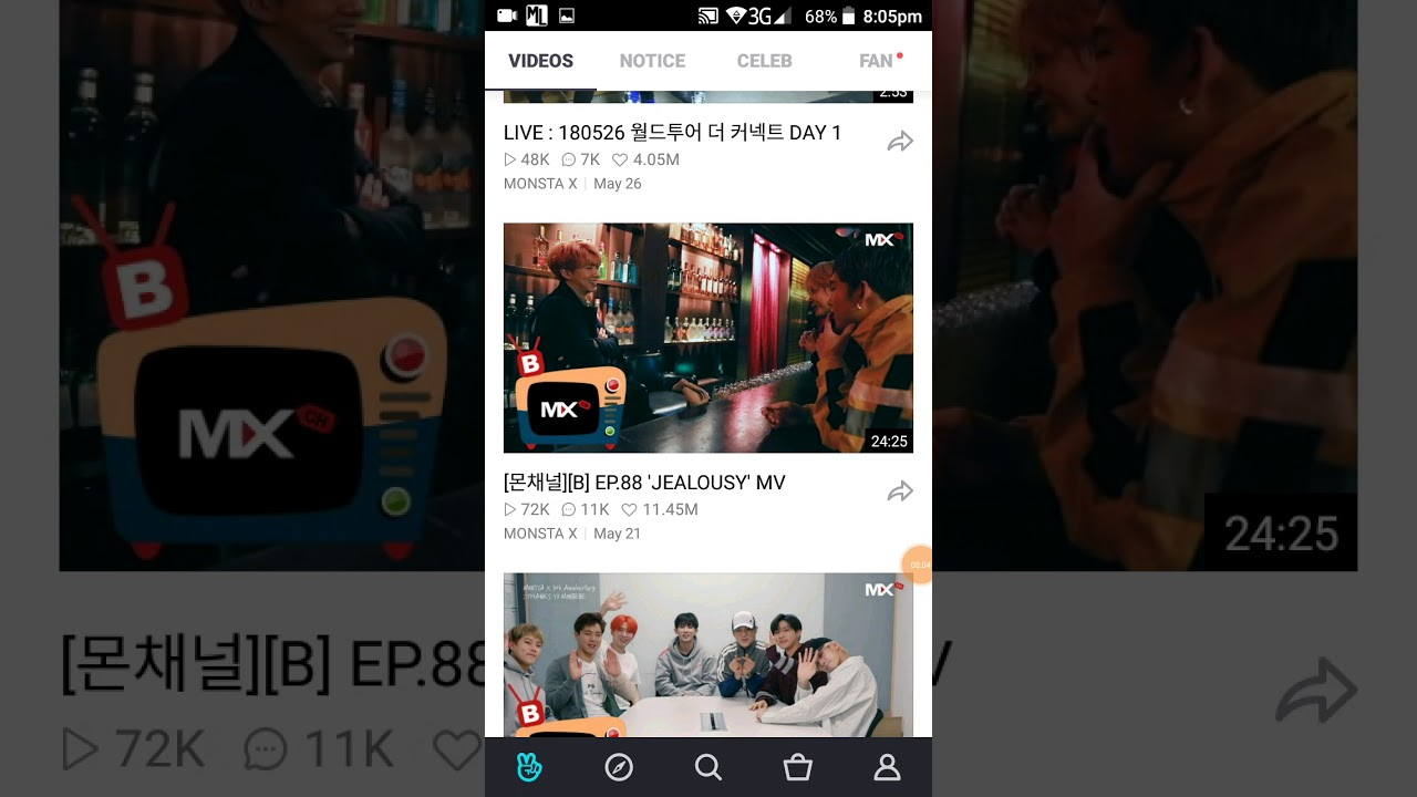 How to download video in vlive with subtitle  (ANDROID)