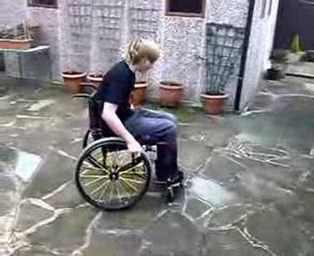 Wheelchair war!