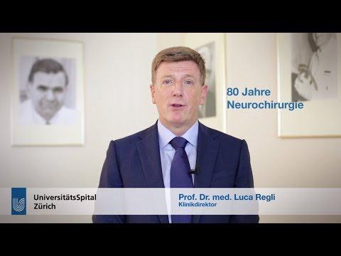 80 Jahre Klinik für Neurochirurgie am USZ