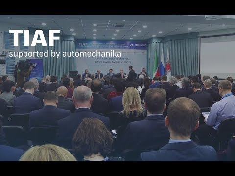 TIAF 2017 supported by Automechanika