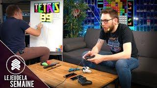 Tetris 99, qui de Zouloux ou Max s'en sortira le mieux ? - Le jeu de la semaine #1