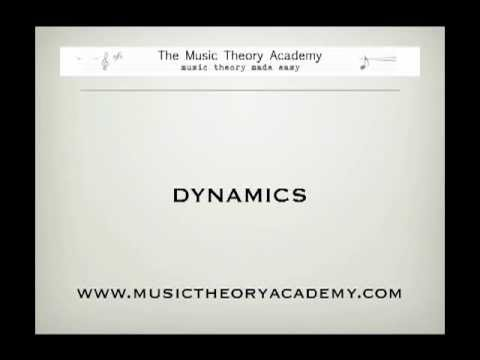 How to read music - dynamics part 1