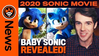 Baby Sonic Confirmed! New Villain in Sonic Movie? New Sonic Movie Merch! (Sonic News)