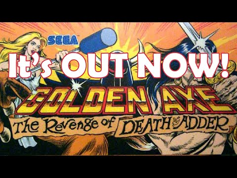 Golden Axe Arcade1up Cabinet NOW AVAILABLE from Unqualified Critics