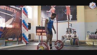 Янтарная штанга №18, тяжёлая атлетика, Калининград, 2017