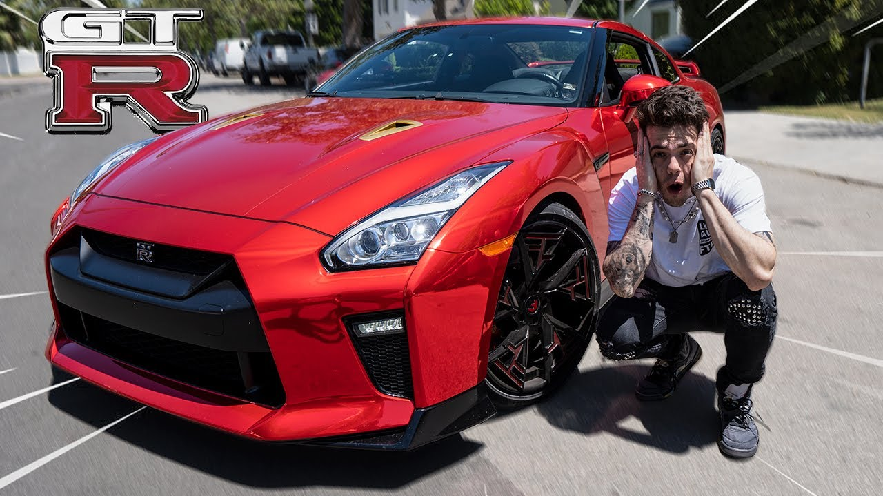 MY NEW CAR - 2020 NISSAN GTR