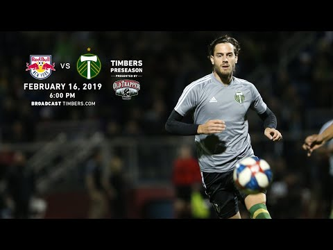 New York Red Bulls vs. Portland Timbers | Preseason | Feb. 16, 2019