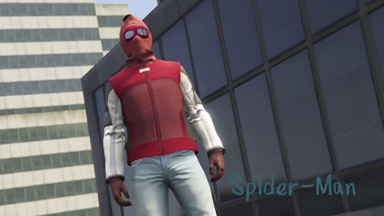 Spider-Man Homecoming Outfits GTA 5 Spider Man U0026 Vulture Outfits | GTA 5 Superhero Outfits - YouTube