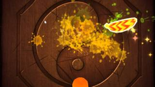 Official Gameplay and Download of Fruit Ninja for PC.