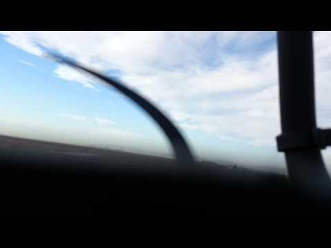 Soft field landing in My Grumman Yankee