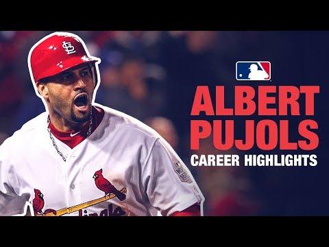 Albert Pujols Career Highlights