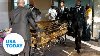 Funeral for George Floyd held in Houston | USA TODAY