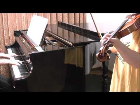 Treasure of life/嵐 バイオリン+ピアノ伴奏 中級アレンジ