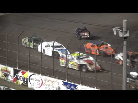 4th Annual Fall Extravaganza Night 1 / IMCA Northern Sport Mod feature Lee County Speedway 10/9/15