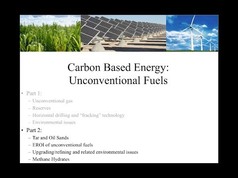 Unconventional Fuels (Part 2)