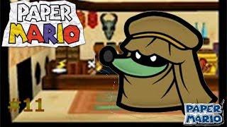 Paper Mario capítulo 11 La sorpresa de Mustafá