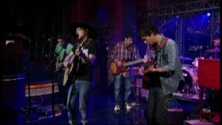 "Conor Oberst and the Mystic Valley Band - ""Spoiled"" on Letterman 7/6 (TheAudioPerv.com)"
