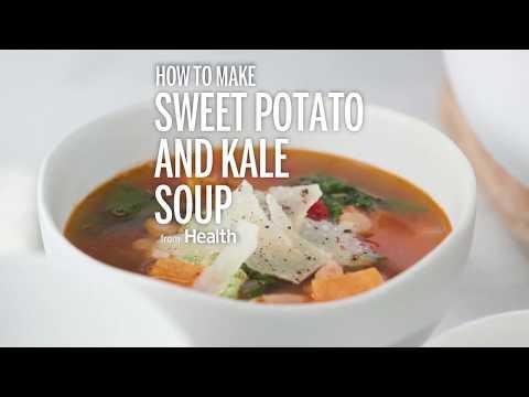 Drunk Potato and Kale Soup