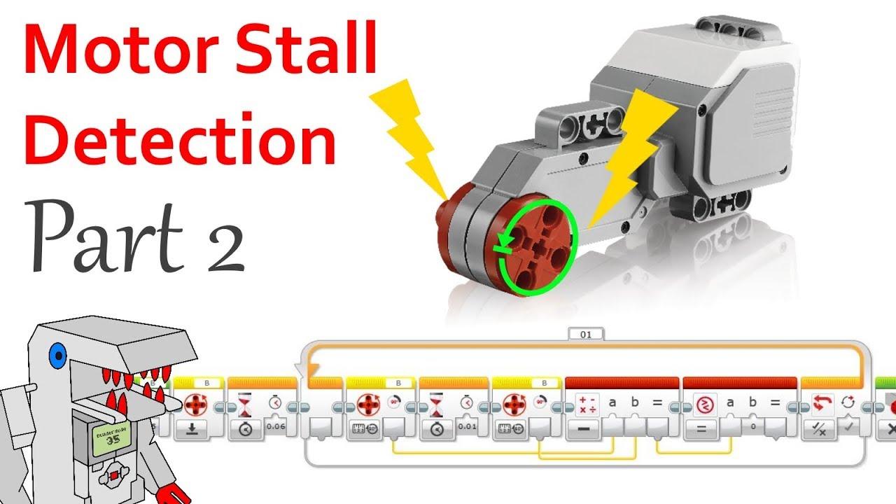 a new program for detecting motor stall ev3 rotation sensor youtube