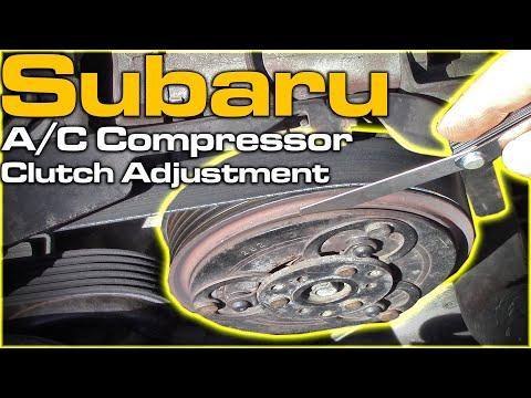Subaru A/C Compressor Clutch