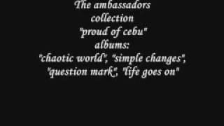 the ambassadors - my apology