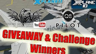 Thomas Rasmussen & Q8Pilot X-Plane 11 Giveaway & Challenge | The Winners #2