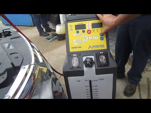 2011 Ford Edge Transmission fluid exchange machine Save Your Transmission