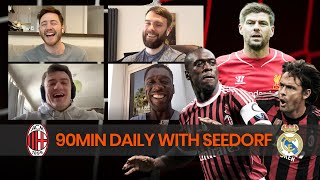 Exclusive With Clarence Seedorf on Liverpool UCL Finals, AC Milan And Premier League | 90Min Daily