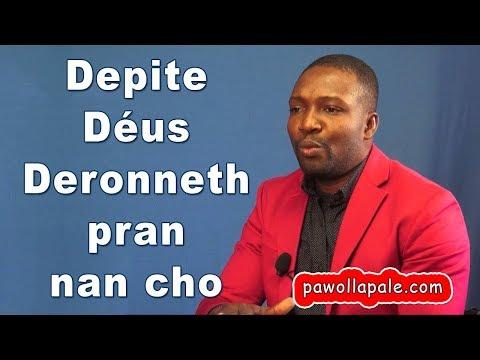 Depite DÉUS DERONNETH pran lan cho lan yon ZAFÈ ZAM - Ann koute l lan mikwo Salomon Sedmé