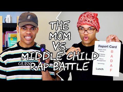 The Mom vs. Middle Child Rap Battle