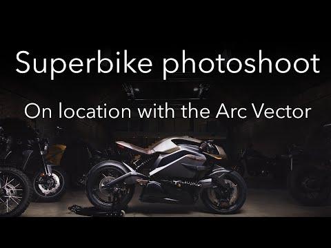 Superbike photoshoot: Arc Vector photography tutorial thumbnail