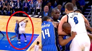 The Funniest NBA Fight EVER | Instantly Put to Sleep | Afflalo Vs Bjelica
