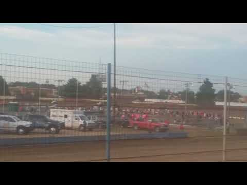 USAC Sprint Cars Heat 2 Terre Haute Action Track 7/25/18