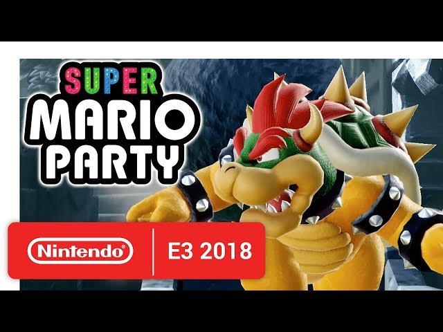 En Octubre Llega El Juego Super Mario Party Para Nintendo Switch