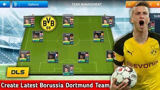 Comment Faire Pour Créer Plus Tard Le Borussia Dortmund, L'Équipe De Rêve De La Ligue De Football 2019