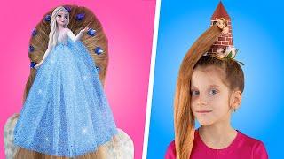 11 милых причёсок для девочек за пару минут
