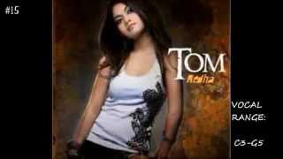 TOP 20 GREATEST SINGERS IN MALAYSIA (2013)