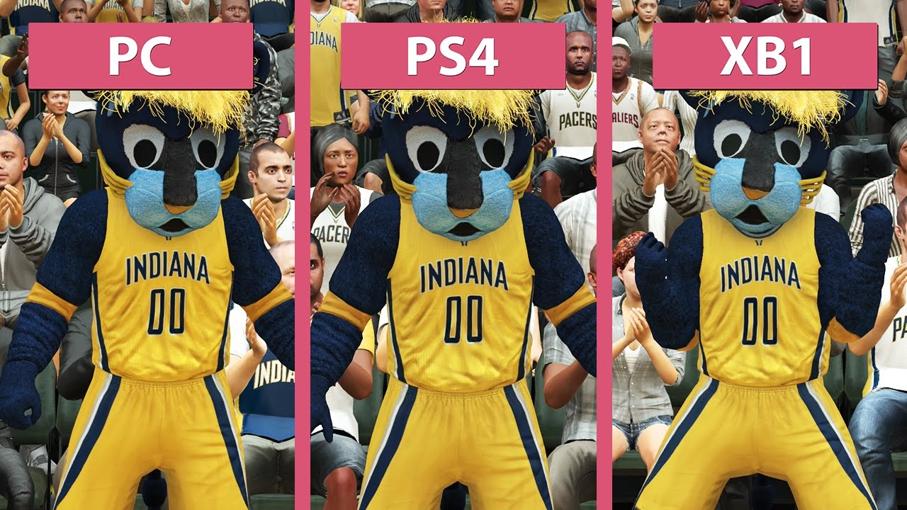 NBA 2K17 – PC vs. PS4 vs. Xbox One Graphics Comparison ...