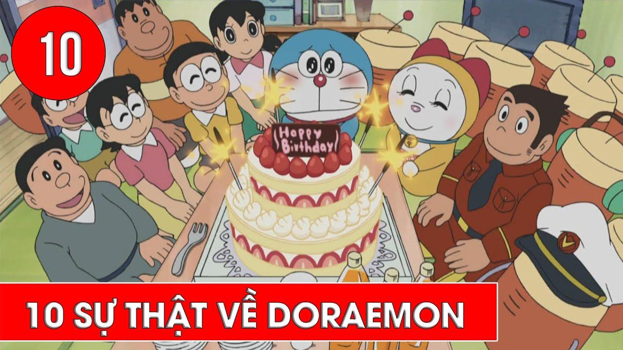 Top 10 sự thật về chú mèo máy Doremon