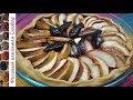 Поделки - Осенний пирог со сливами и яблоками. Домашняя выпечка из песочного теста Сабле.