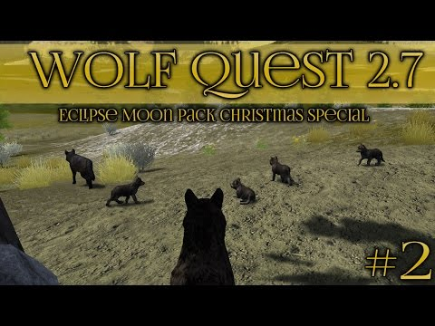 A Christmas Litter of Wolf Pups is Born!! 🐺 Wolf Quest 2.7 Christmas Special || Episode #2