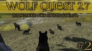 A Christmas Litter of Wolf Pups is Born!! || Wolf Quest 2.7 Christmas Special || Episode #2