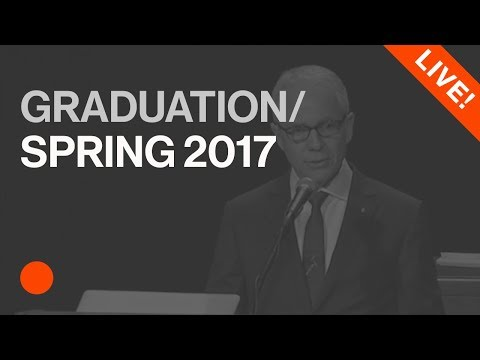 Spring Graduation Ceremony 2017