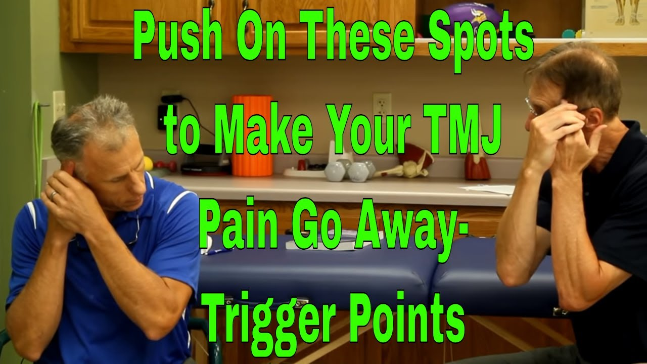 Push On These Spots To Make Your Tmj Pain Go Away Trigger Points