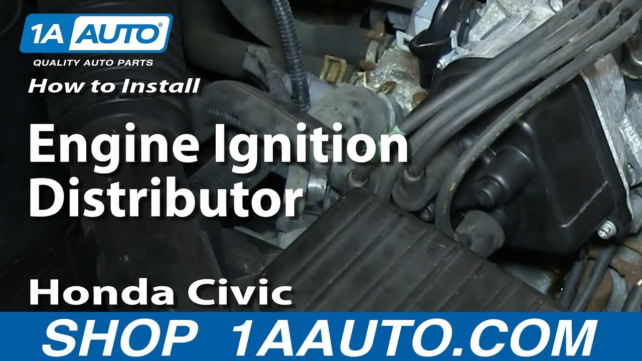 How To Install Replace Engine Ignition Distributor 1996 98