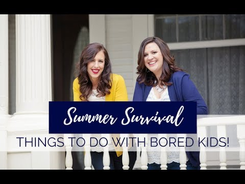 summer survival things to do with your bored kids youtube. Black Bedroom Furniture Sets. Home Design Ideas