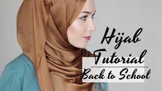 HIJAB TUTORIAL | BACK TO SCHOOL
