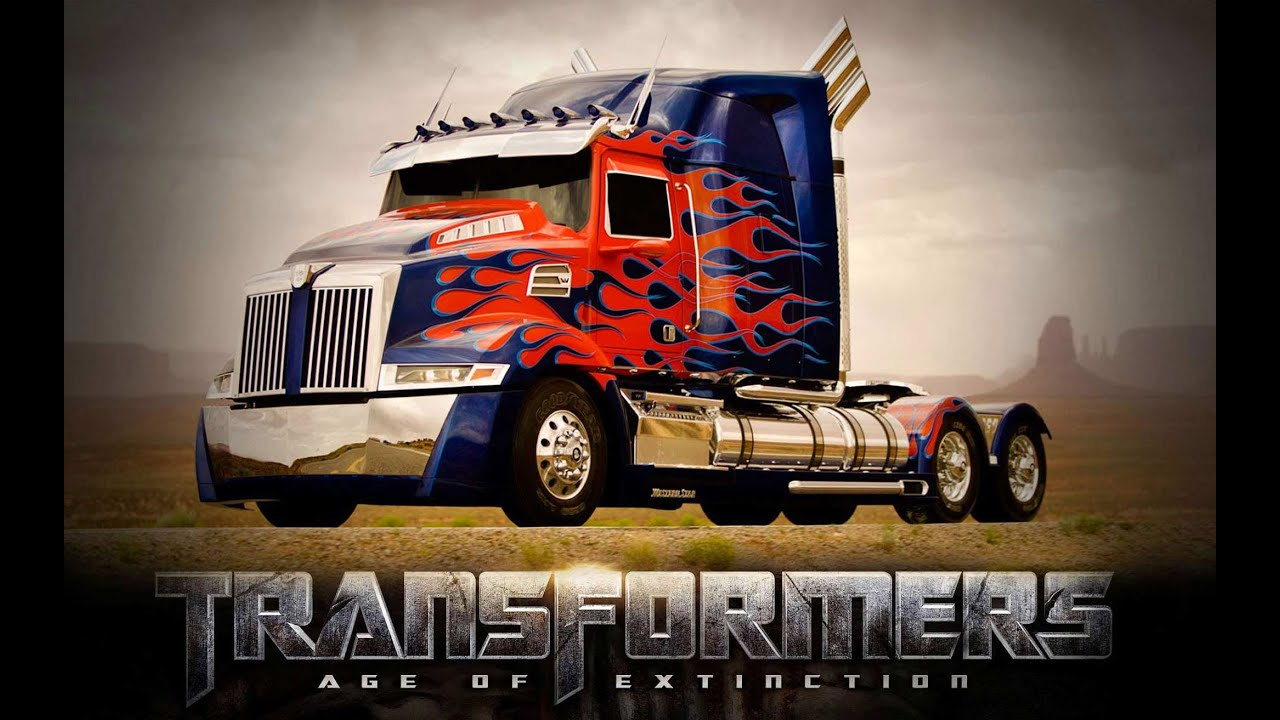 Transformers Age Of Extinction - Optimus Prime new truck! - YouTube