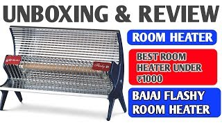 Bajaj Flashy 1000w Room Heater BEST PORTABLE ROOM HEATER
