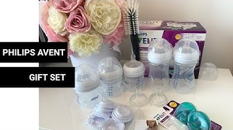 Bình sữa Philips Avent giftset